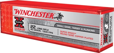 WINCHESTER 22LR 40GR 1300 FPS 100 RND BOX *NO LIMITS*