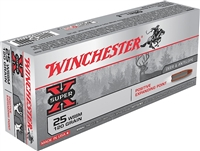 WINCHESTER 25 WSSM  120GR POSITIVE EXPANDING POINT 20 RND BOX