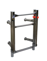 Transom mounted ladder, three step - Dixon Model F3B
