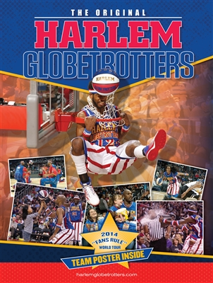 2014 HARLEM GLOBETROTTERS YEARBOOK/PROGRAM