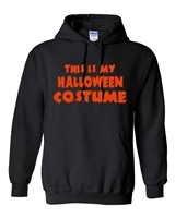 This Is My Halloween Costume Men's HOODIE (496)