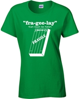 Fra-Gee-Lay That Must Be Italian A Christmas Story JUNIOR FIT LADIES T-Shirt (501)
