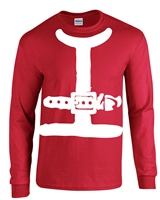 Santa Claus Suit LONG SLEEVE Men's T-Shirt (B117)