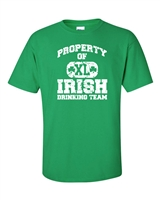 Property of Irish Drinking Team St. Patrick's Day Men's T-Shirt (1046)