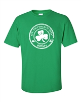St. Patrick's Day Irish Shamrock in Circle Men's T-Shirt (1047)