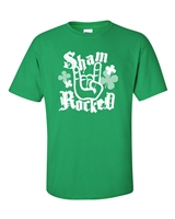 St. Patrick's Day Sham-Rocked Men's T-Shirt (1048)