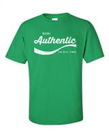 St. Patrick's Day Authentic Irish The Real Thing Men's T-Shirt (1053)