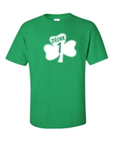 St. Patrick's Day Shamrock Drunk 1 Men's T-Shirt (1060)