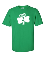 St. Patrick's Day Shamrock Drunk 2 Men's T-Shirt (1060)