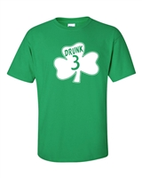 St. Patrick's Day Shamrock Drunk 3 Men's T-Shirt (1060)