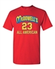 McDowell's All American All Stars #23 Men's T-Shirt (1443)