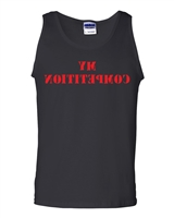 BACKWARD My Competition Look in The Mirror Men's Tank Top (1576)