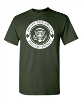 Drain The Swamp President Trump Circle Seal Men's T-Shirt (1554)