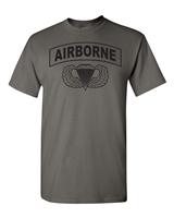 Army Airborne Paratroopers Men's T-Shirt (1617)