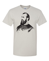 Stonewall Jackson Image Men's T-Shirt (1666)