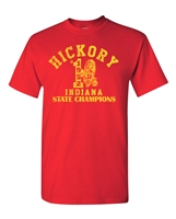 Hickory High School 1952 Indiana State Champions Men's T-Shirt  (1704)