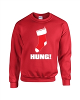 Hung Christmas Stocking Unisex Crew Sweatshirt  (1721)