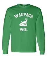 Waupaca WIS Stranger Things LONG SLEEVE Men's T-Shirt (1728)