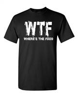 WTF Where's The Food Men's T-Shirt (1810)