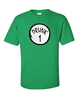 Round Drunk 1 Men's T-Shirt (89)