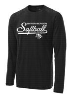 Byron-Bergen Softball Long Sleeve Dri Fit T-Shirt (St700LS)