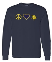 St. Veronica Peace/Love Long Sleeve T-Shirt (#2 NEW)