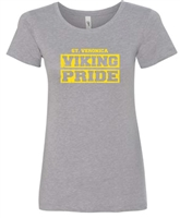 St. Veronica Viking Pride Girls/Ladies T-Shirt (#6 NEW)
