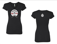 Cincinnati Craft Beer Club ladies v neck