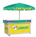 Lemonade Push Cart