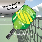 Pickleball Paddle 30P-XL Epic Graphite Lemon Lime
