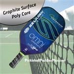Pickleball Paddle 31P-XO Omni Graphite Seattle Blue, Glen Peterson Signature Edition