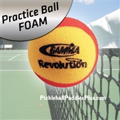 Practice Gamma Revolution Foam Ball for Pickleball
