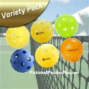 Pickleball Balls Variety Pack Of Six