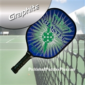 Green with Blue Blaster Paddle