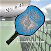 Grey on Light Blue Blaster Paddle