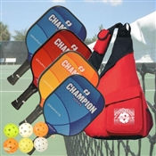Champion Pickleball Paddle Set of Four
