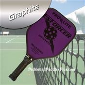 Black on Purple Enforcer Paddle