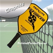 Black on Yellow Enforcer Paddle
