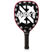 Evoke White on Black Graphite Pickleball Paddle
