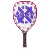 Evoke Teardrop Purple Polymer Composite Paddle