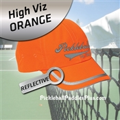 Pickleball Hat Safety Orange Pickleball Hat
