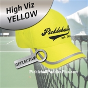 Pickleball Hat Safety Yellow Pickleball Hat