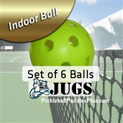 Pickleball Balls Jugs Indoor Green Six Pack