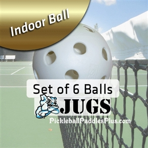 Pickleball Balls Jugs Indoor White Six Pack