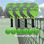 Pickleball Paddle Koko Dom Wood- Set of Four Paddles
