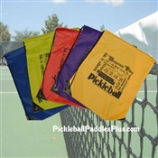 Pickleball Paddle Draw String Bag