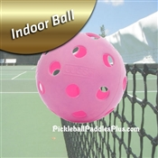 Pickleball Balls Midnight Indoor balls, choose from black, pink or indigo blue