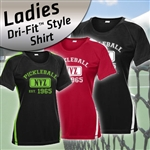 "Dri Fit Style Ladies Shirt ""NVZ"""