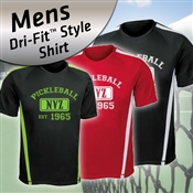"Dri Fit Style Mens Shirt ""NVZ"""