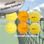 Pickleball Balls-Ultimate Outdoor Sampler